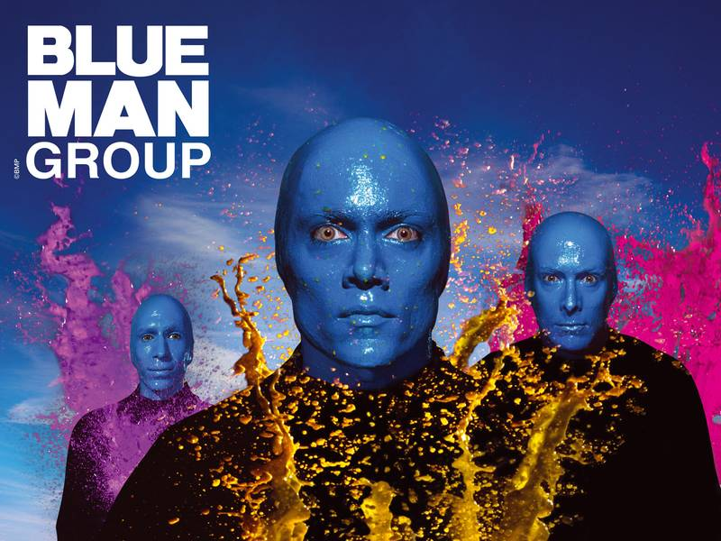 Blue Man Group Dj 18